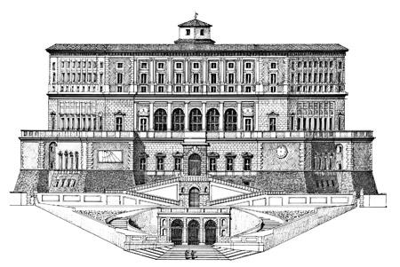 Ville palazzi e musei loreno confortini disegni drawings for Disegni di ville