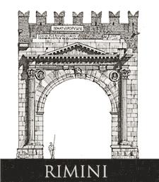 Rimini arco di augusto loreno confortini disegni drawings - Caf porta rimini pesaro ...
